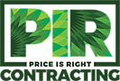 Price is Right Contracting Logo